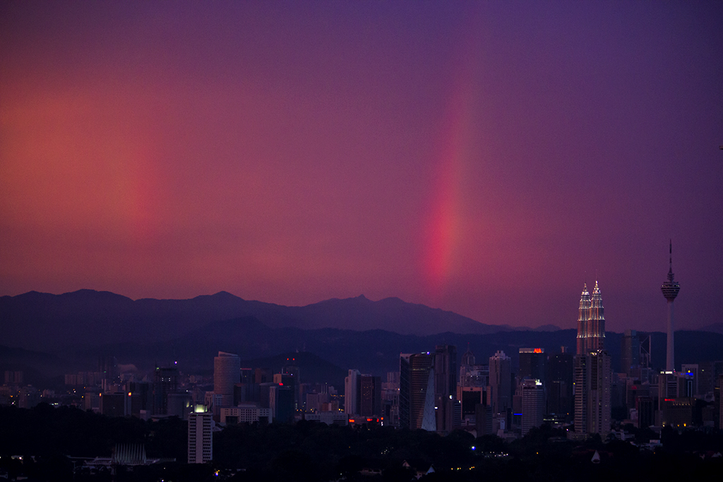 Rainbows over KL
