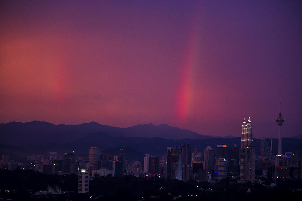 Rainbows over KL