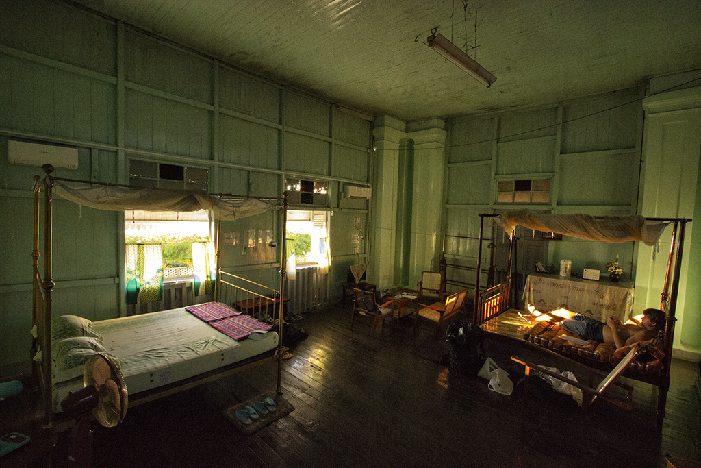 The most beautiful room in Myanmar
